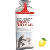 Энергетический гель Squeezy Energy Super Gel, лимон